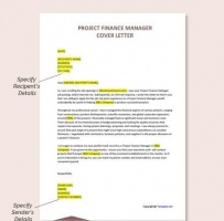 Project Finance Manager Cover Letter