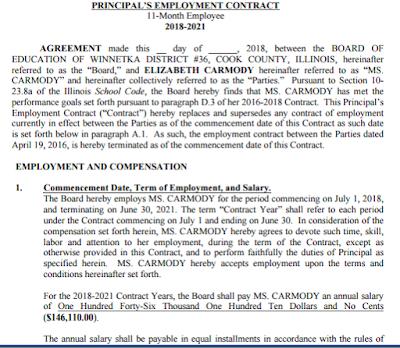 Private School Teacher Contract Sample India