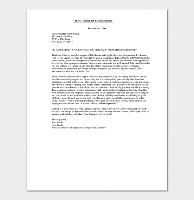 Promotion Request Letter  Sample Letters   Format