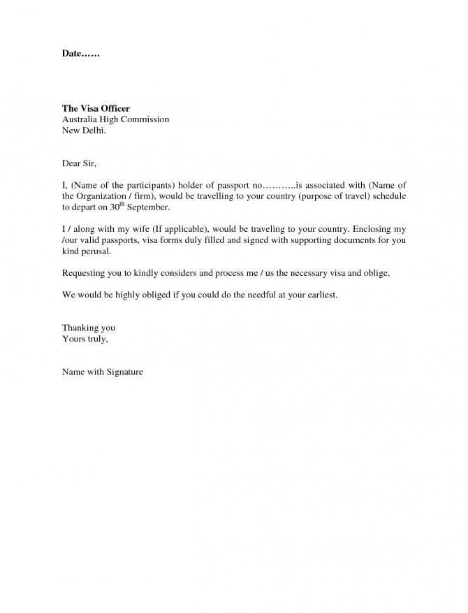 Recommendation Letter For Visa Application Extraordinary Ability