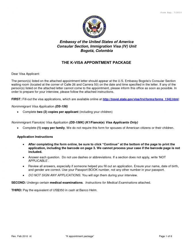 Recommendation Letter For Visa Application Letter Of