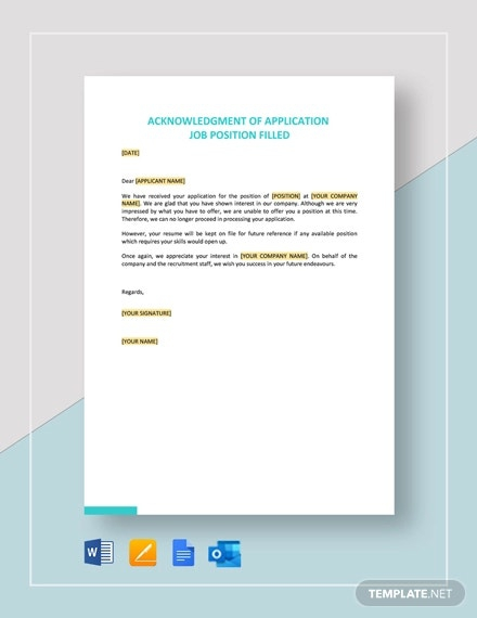 Sample Hr Application Forms   Templates
