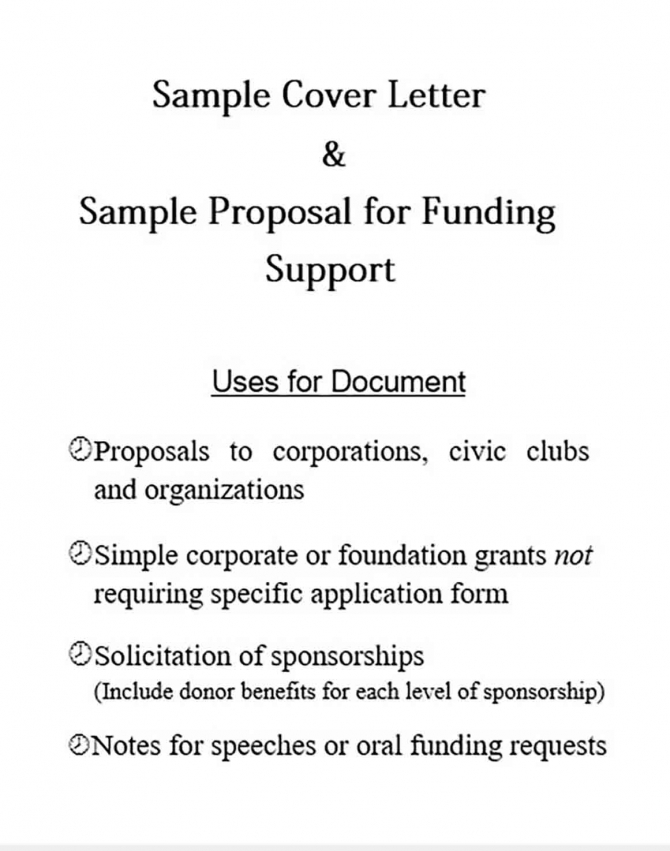 Sample Proposal Letter Project And How To Write It Best Mous Syusa