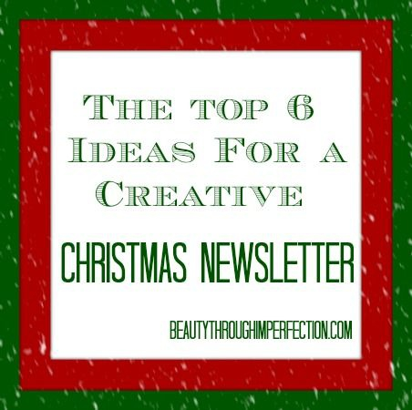 Unique Ideas For A Fun   Entertaining Family Christmas Letter