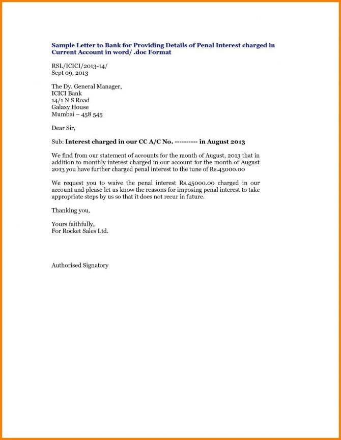You Can See This Valid Letter Format For Bank Fund Transfer At