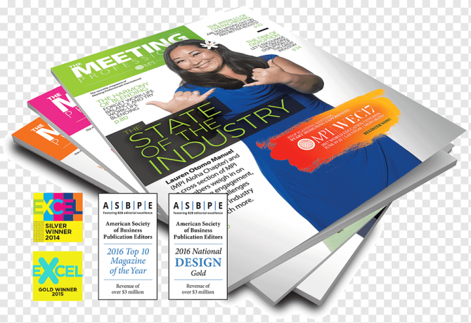 Advertising Publication Meeting And Convention Planner Magazine