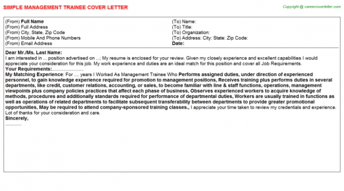 Appraiser Trainee Cover Letters