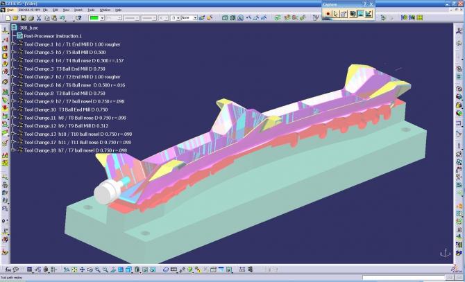 Cnc Catia Programmer  Catia Cnc Contractor  Catia Axis