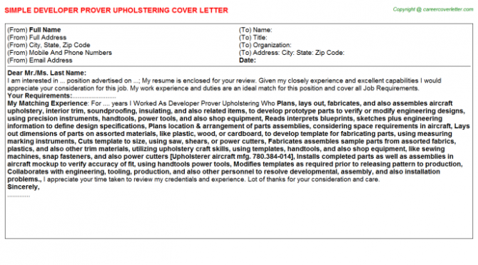 Cognos Business Intelligence Developer Cover Letters