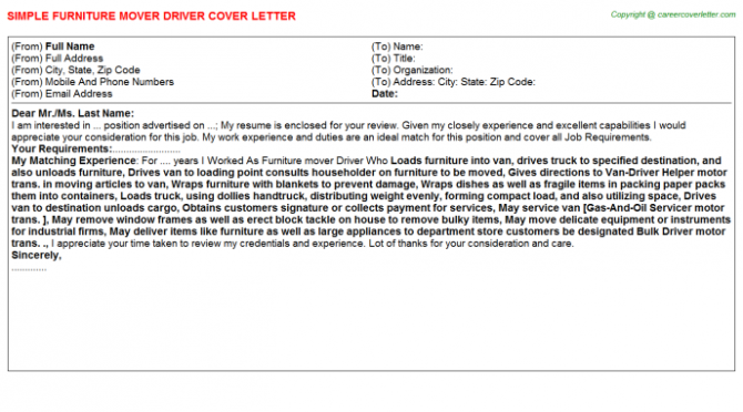 Courtesy Bus Driver Cover Letters