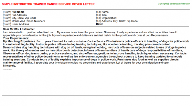 Emr Trainer Cover Letters