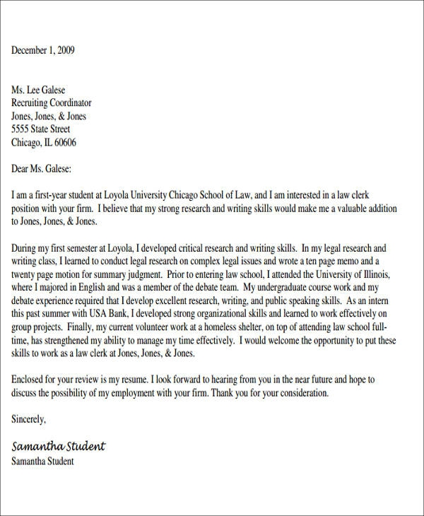 Free  Legal Assistant Cover Letter Templates In Ms Word