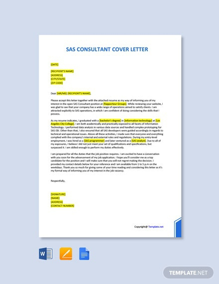 Free Consultant Letter Templates