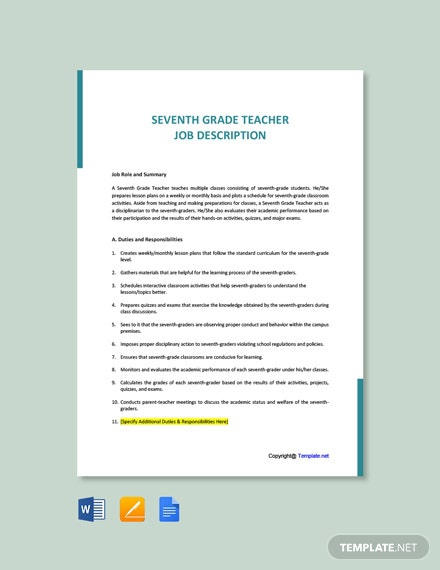 Free Hebrew Teacher Cover Letter Template