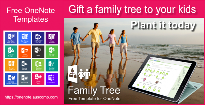 Free Ms Onenote Family Tree Template Its Free So Please