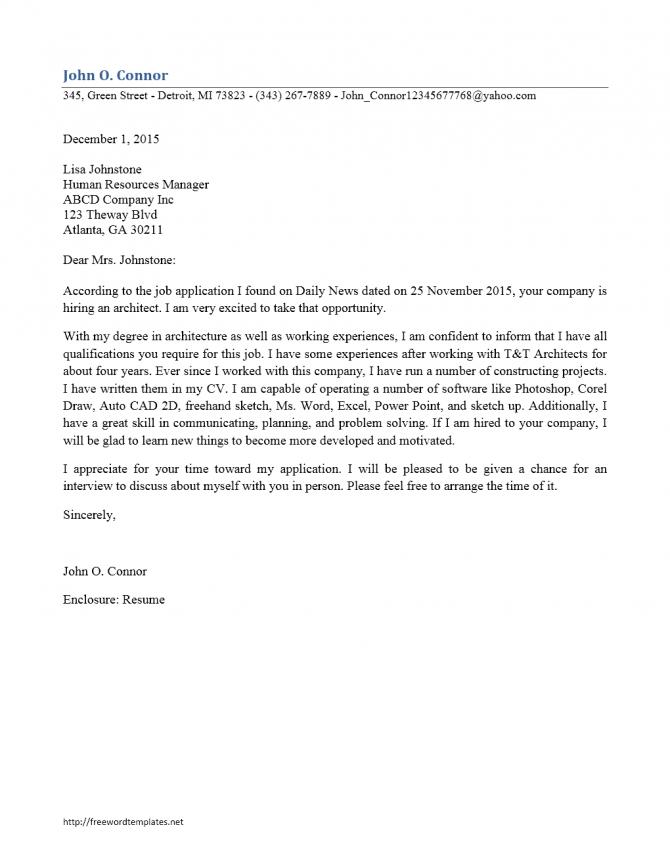 Functional Architect Cover Letter Cdl Driver Sample Resume Etl For
