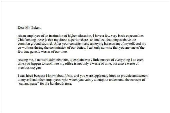Funny Resignation Letter