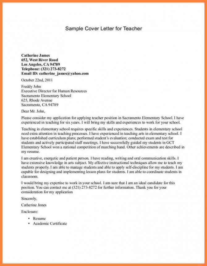 How Can Write Application Letter For Teaching Bussines Proposal