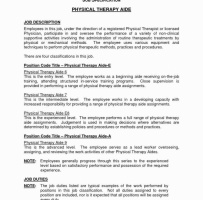 Entry Level Physical Therapist Cover Letter