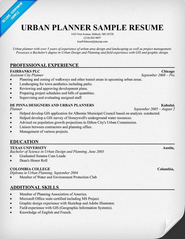 Resume Samples And How To Write A Resume