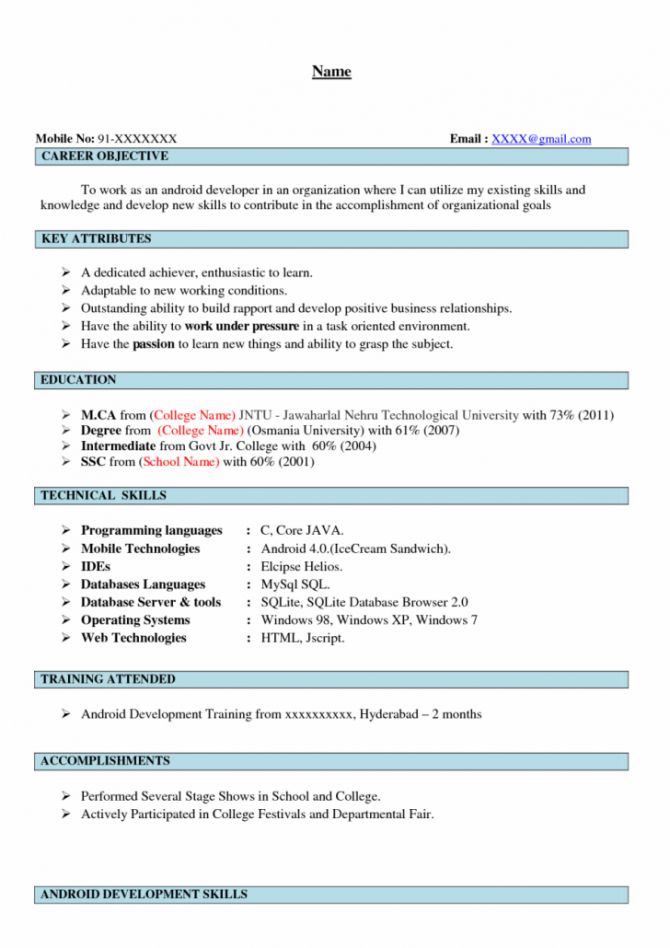 Salesforce Developer Resume Sles  Images Crm Business Analyst