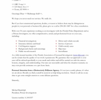 Marketing Letter For Services